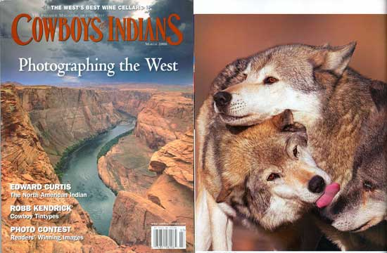 Cowboys & Indians Magazine, March 2006