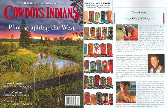 Cowboys and Indians Magazine, March 2007